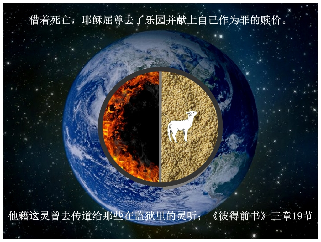 Chinese Language Bible Lesson First Fruits Christ went to Paradise and spoke to the Saints