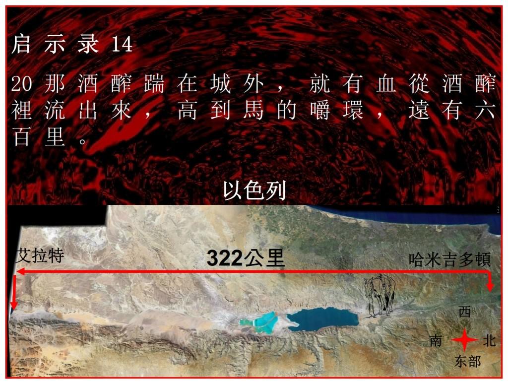 Blood flows 200 miles Armageddon Chinese Language Bible Lesson Day of Atonement