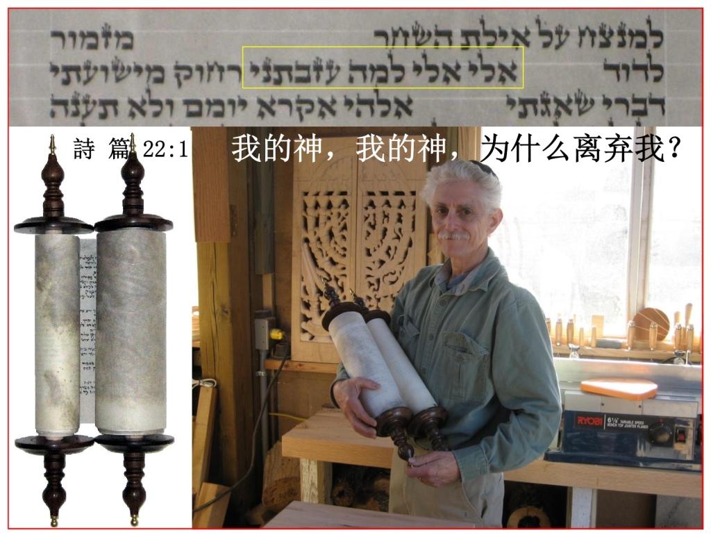 Chinese Language Bible Study My God My God Why Hast Thou forsaken Me?
