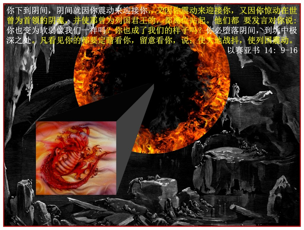 Satan does not go to the Bottomless Pit as King but as an equal to the others Chinese Language Bible Lesson Day of Atonement