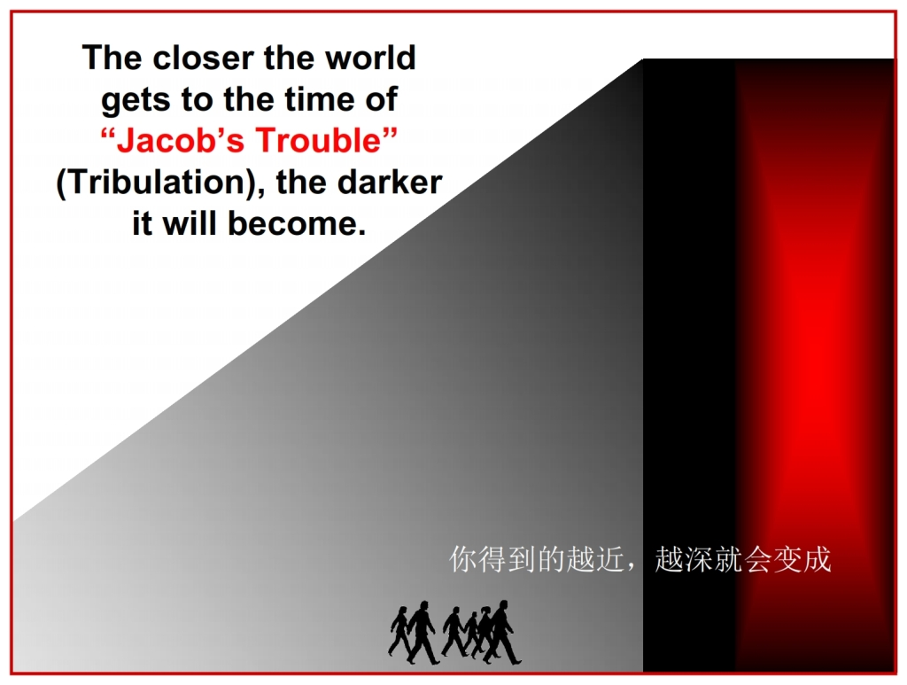 The world will get worse  Chinese Language Bible Lesson Day of Atonement
