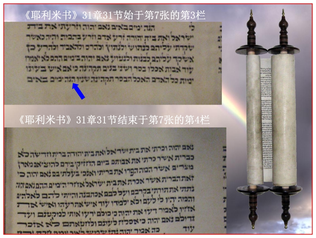 The Hebrew Scroll of Jeremiah Chinese Language Bible study
