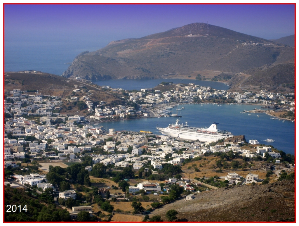 Isle of Patmos today Chinese Language Bible Lesson Day of Atonement