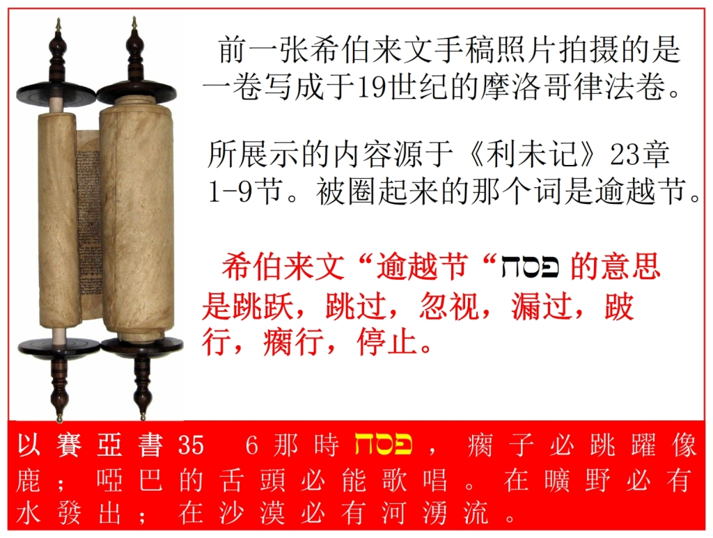 Torah Scroll from Morocco Chinese Language Bible study