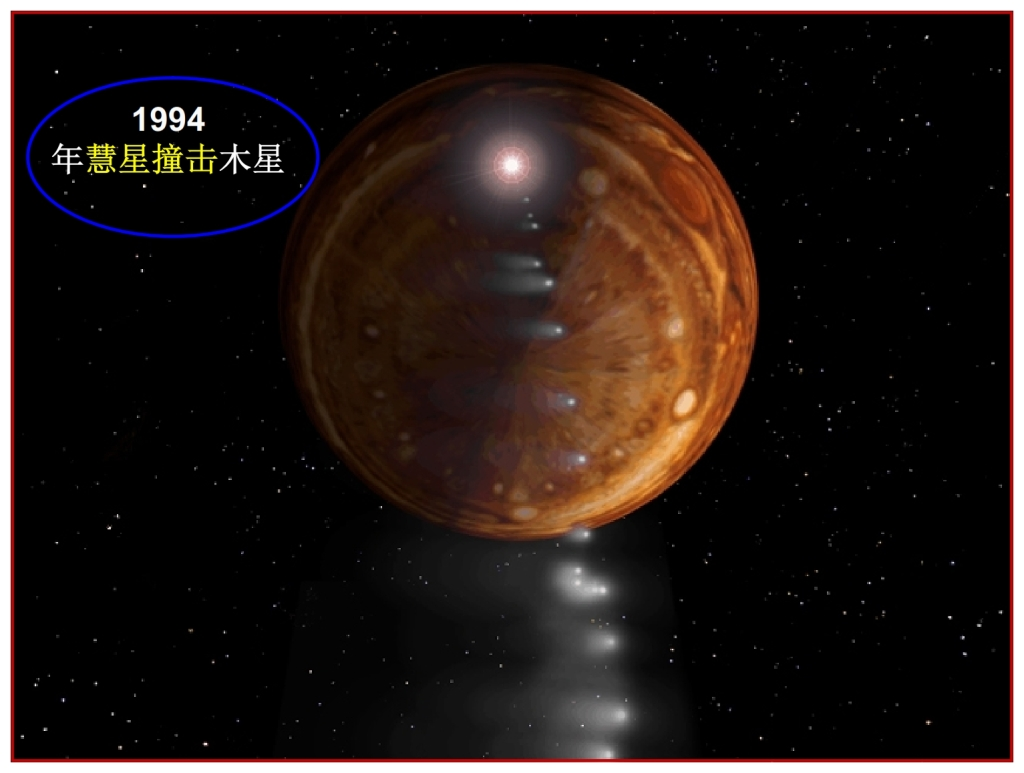 Jupiter hit by comet Chinese Language Bible Lesson Day of Atonement