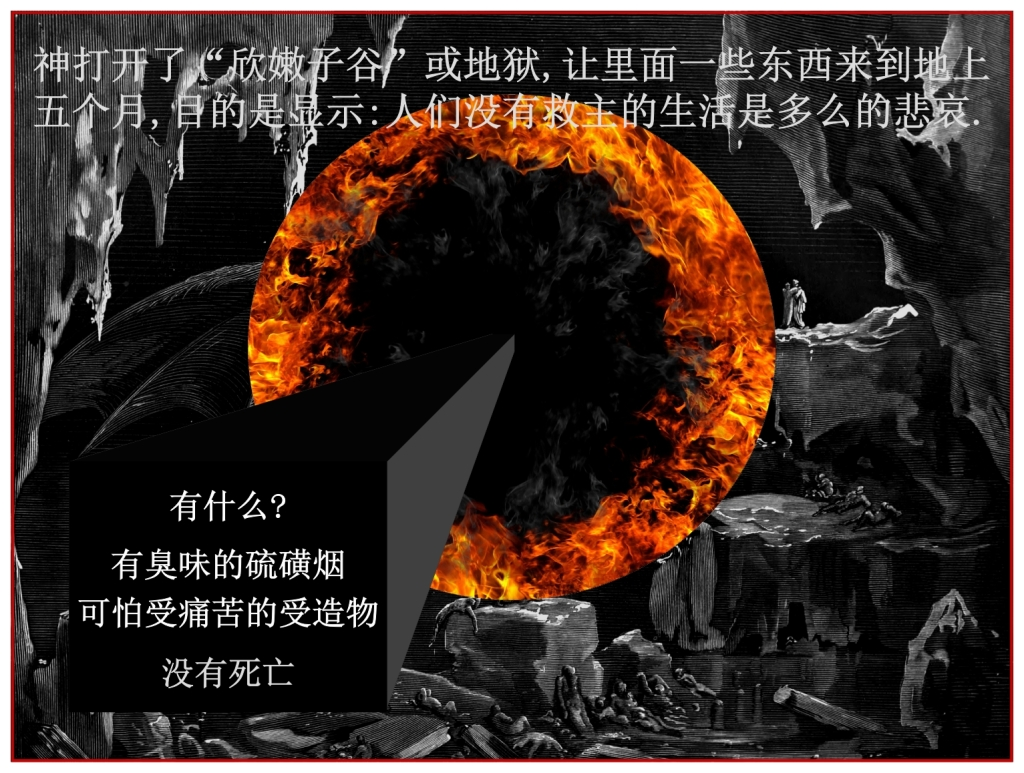 The bottomless pit will be opened what is in the bottomless pit? Chinese Language Bible Lesson Day of Atonement