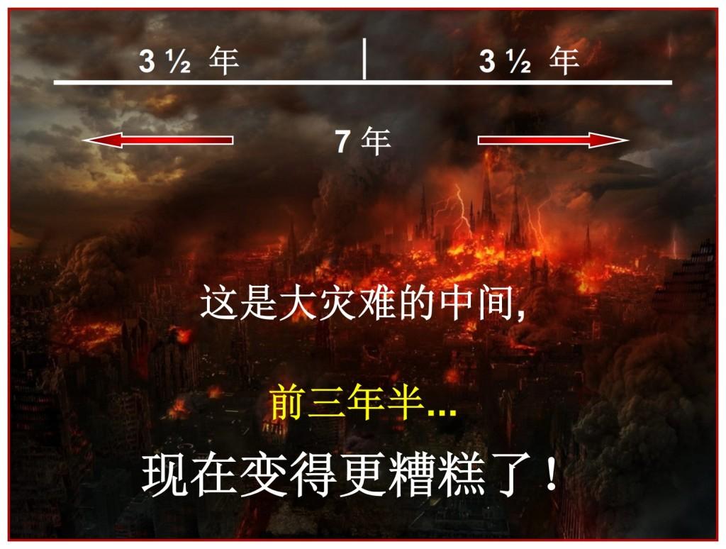 Great Tribulation Chinese Language Bible Lesson Day of Atonement