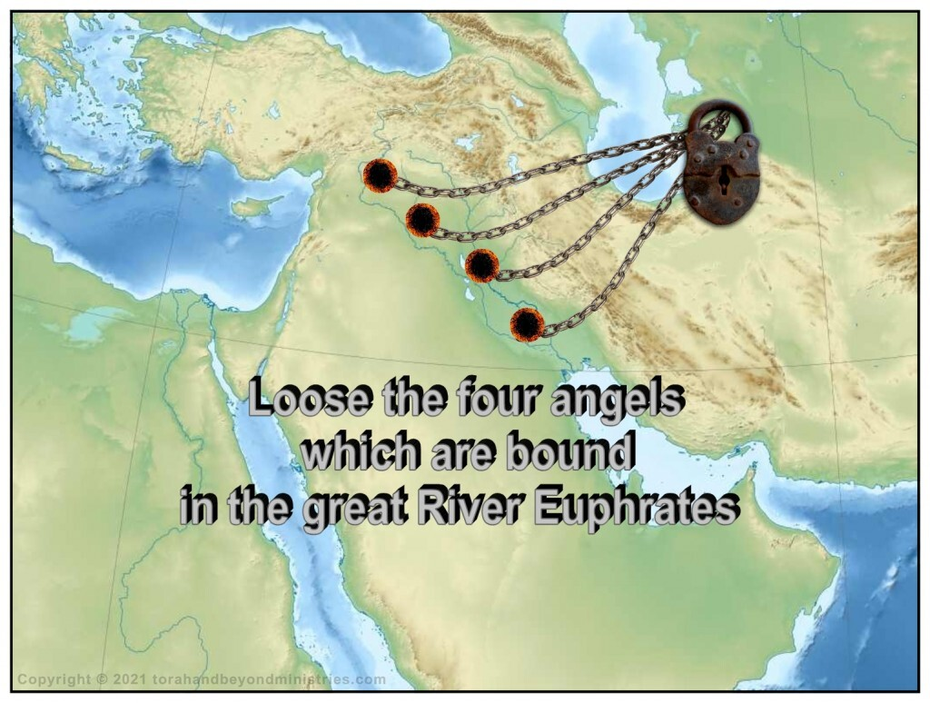 Loose the four angels which are bound in the great River Euphrates