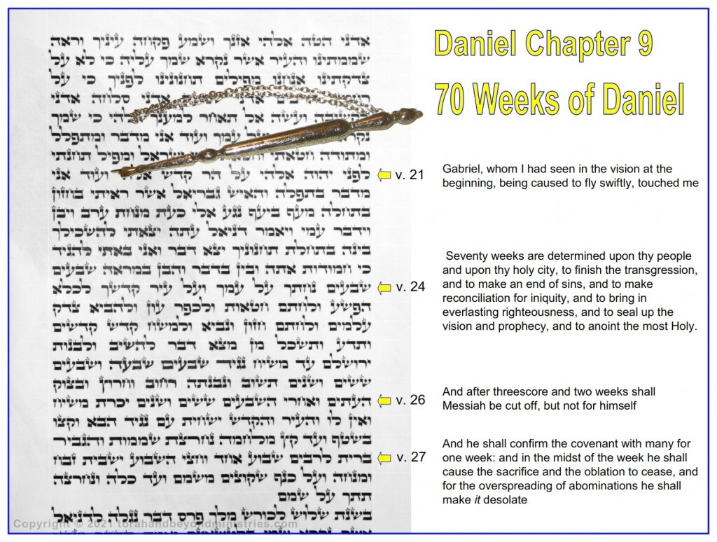 This photo of the Scroll of Daniel came from a Scroll that came from Israel before 2010. The scroll is vellum, a high quality calf skin.