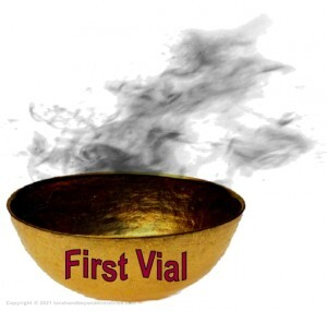First Golden Vial Judgment in the Tribulation