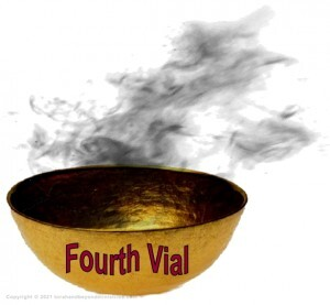 Fourth Golden Vial Judgment in the Tribulation