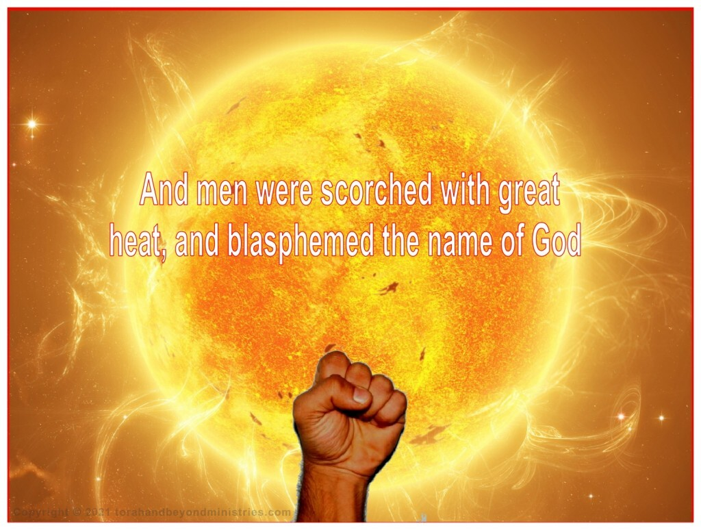 In Revelation 16 mankind is convinced there is a God in Heaven and they hate Him.