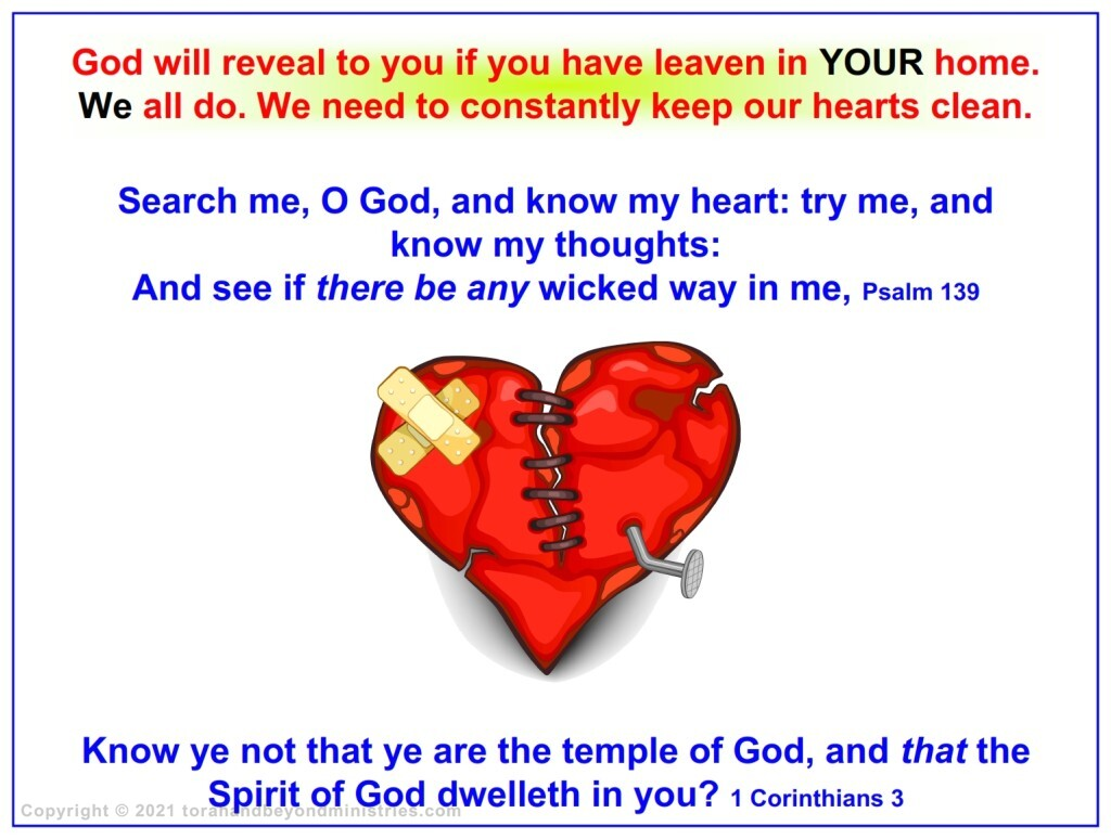 Under the New Covenant, the Temple of God is a believer's heart. We need to clense our hearts.
