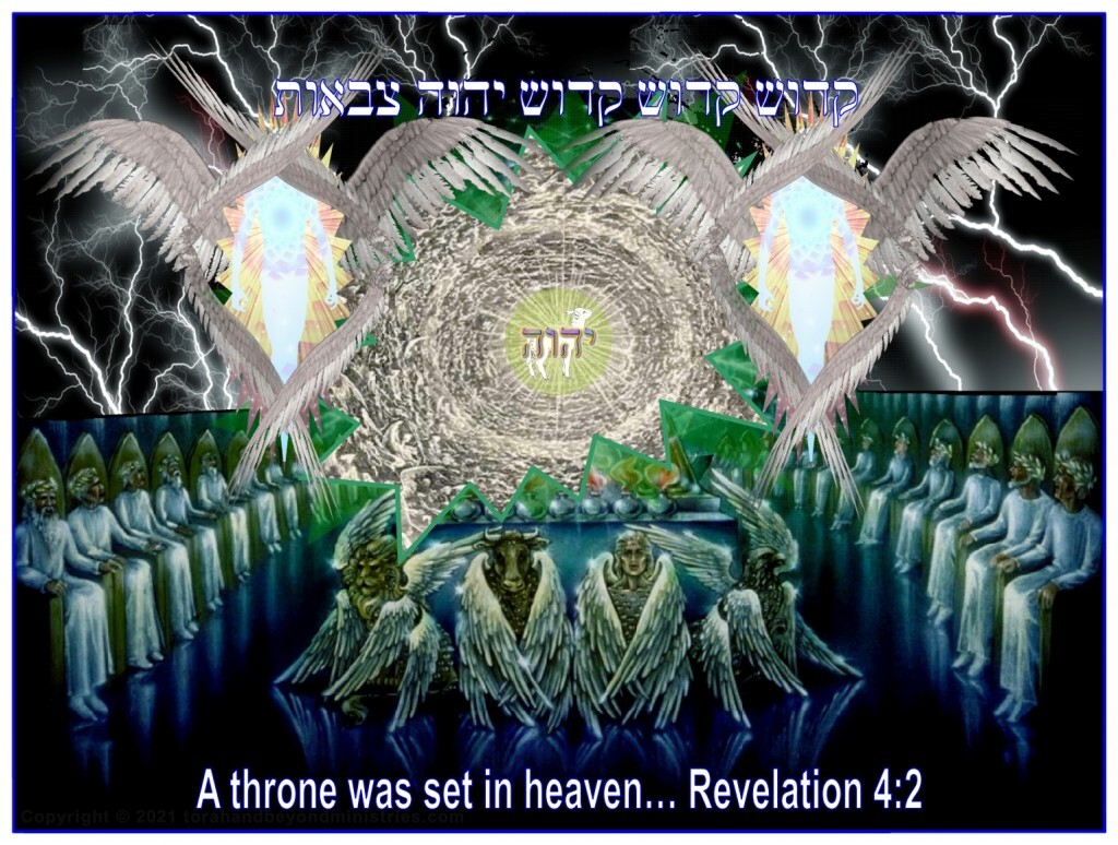 The Throne of God as explained in the book of The Revelation