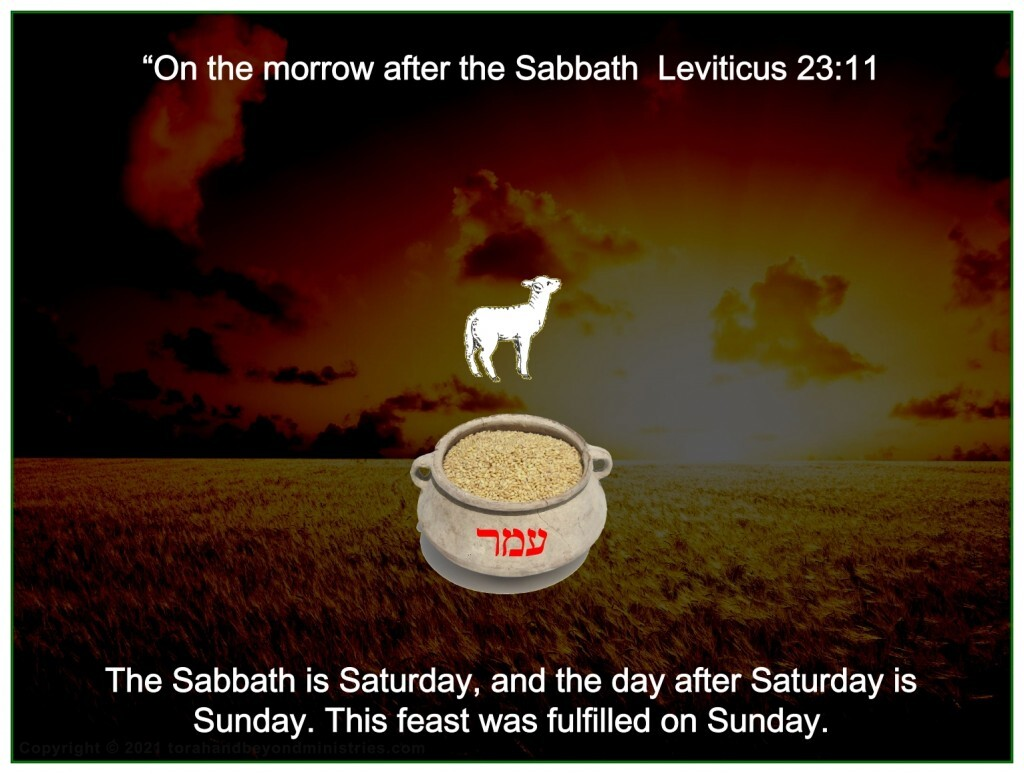 Jesus arose from the dead early on Sunday morning