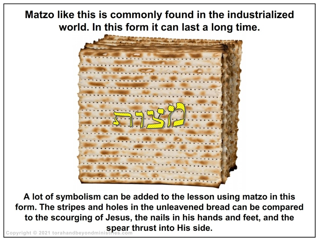 There are various forms of Matzo used at Passover depending on ethnicity