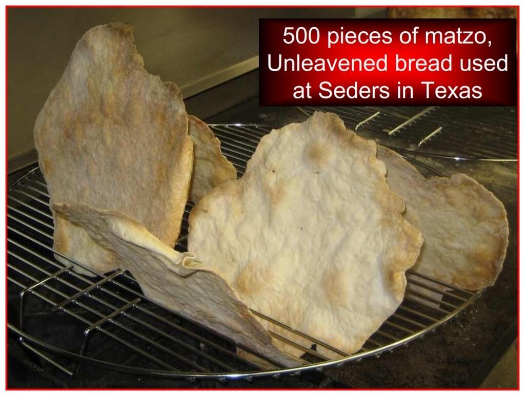Various forms of Matzo all kosher according to Exodus 12