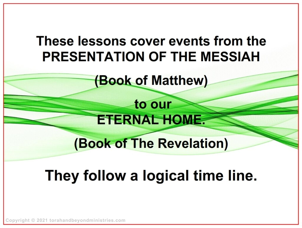 Time frame for Feasts of the Lord - Feasts of the Lord Leviticus 23