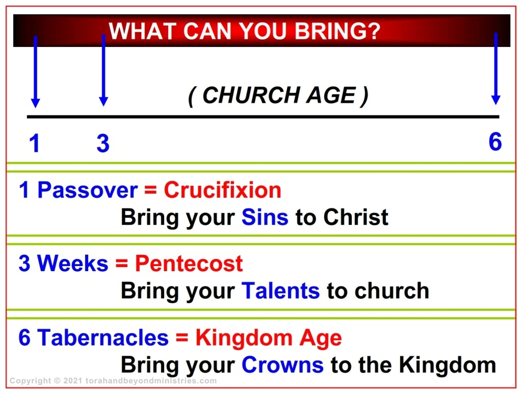 What could we possibly bring to each of these Feasts? Here is the answer.