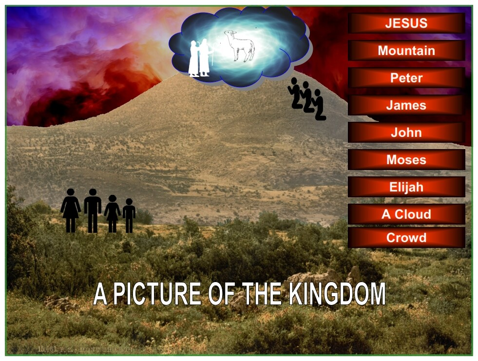 Examine each of the detail in the picture of the Kingdom that Jesus gave His Disciples.