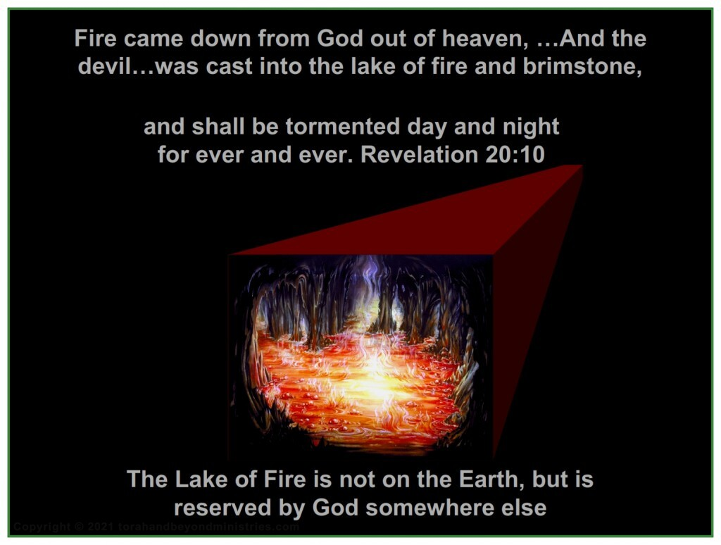 This rebellion is quickly stopped and Satan is cast into the Lake of Fire