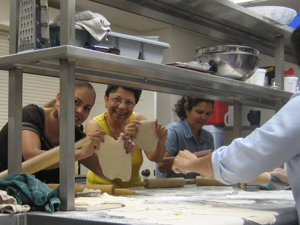 Making Unleavened Bread for Passover