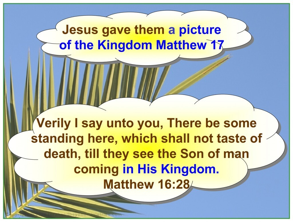 A picture of the fulfillment of Sukkot the Kingdom