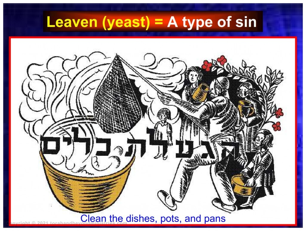 For Passover many older Jewish communities clean the dishes, pots, and pans in a communal service making sure all leaven is removed.
