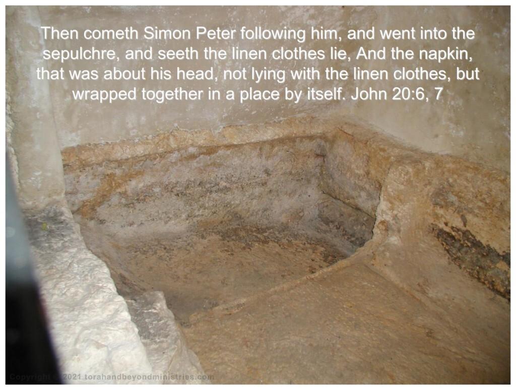 The tomb in Jerusalem
