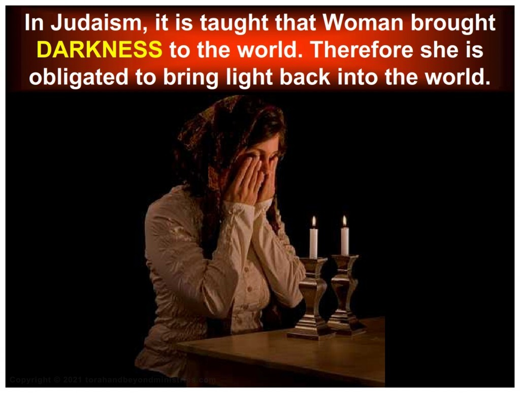 Seed of the woman will bring the light to the world