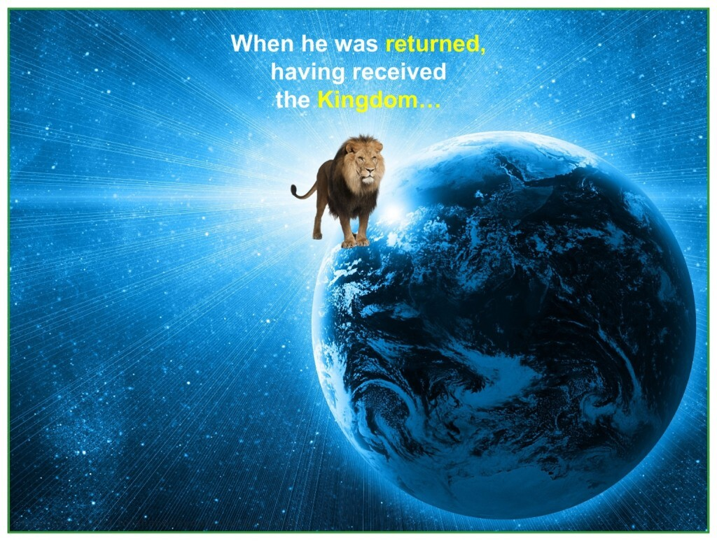 The Lion of the tribe of Judah, Jesus, will rule on Earth froever