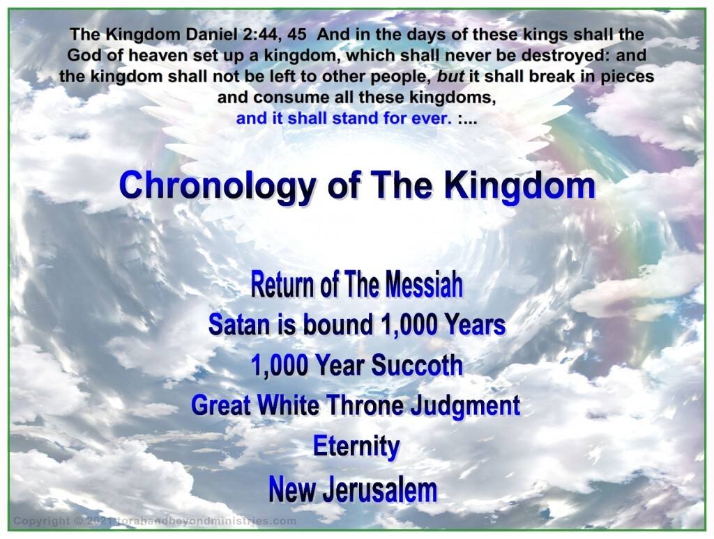 Feast of Sukkoth - The Messiah's kingdom is an eternal kingdom