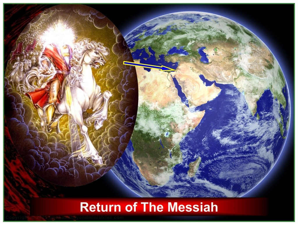 Jesus returns before the Feast of Tabernacles and removes all wickedness from planet Earth.
