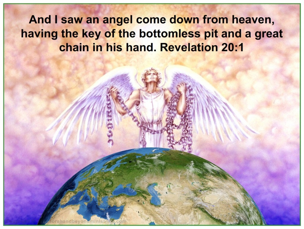 Satan is bound before the Feast of Tabernacles starts