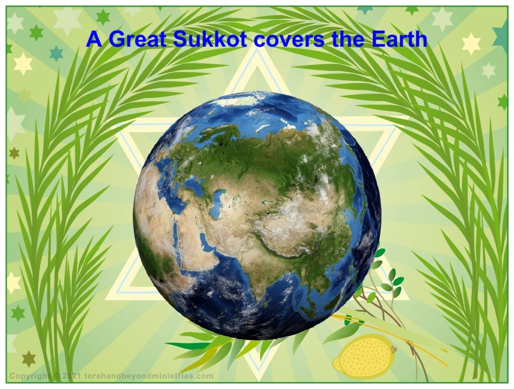 A great Sukkot covers the Earth with peace and harmony
