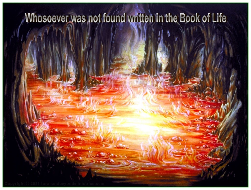 It is either the lake of fire or John 3:16 The choice is yours