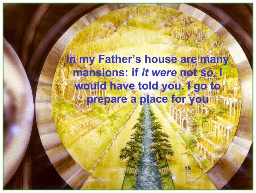 The New Jerusalem is huge. There is room for everyone.