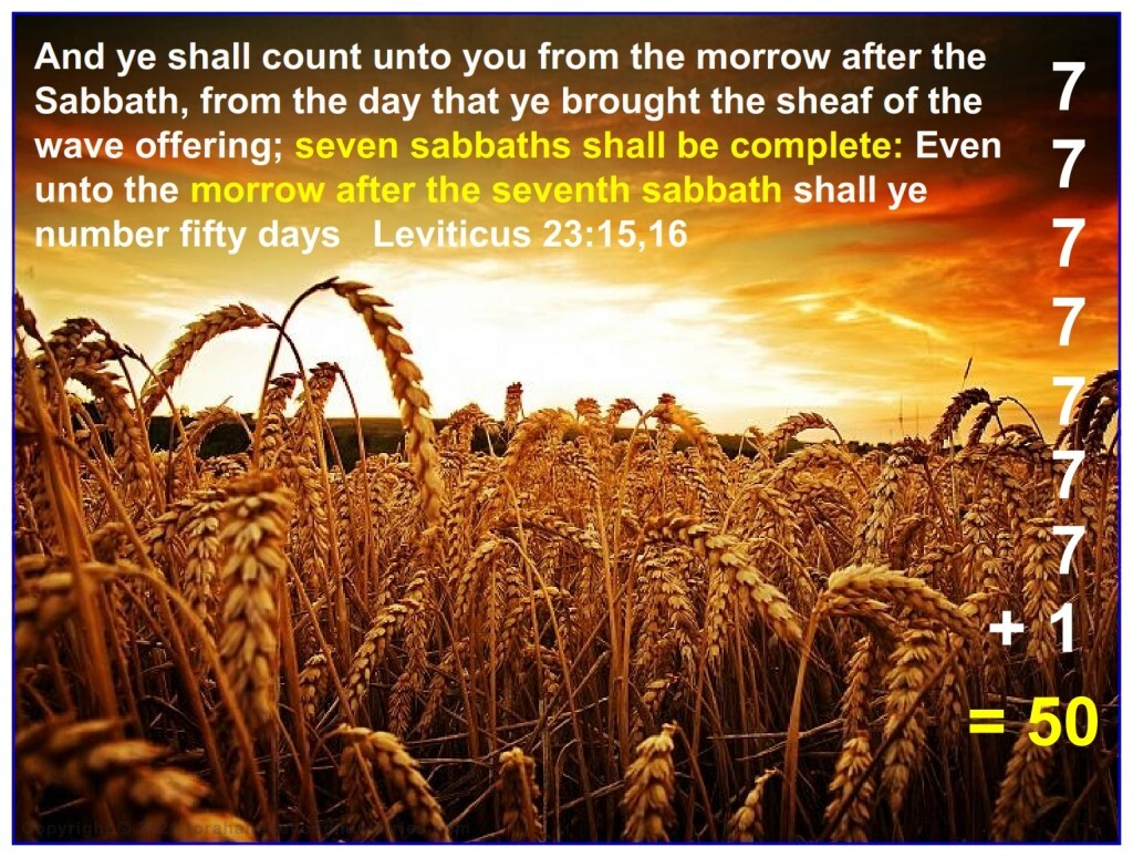 The Feast of Shavuot, Feast of Weeks, Feast of Pentecost, Feast of 50 are all exactly the same thing only called by different names.