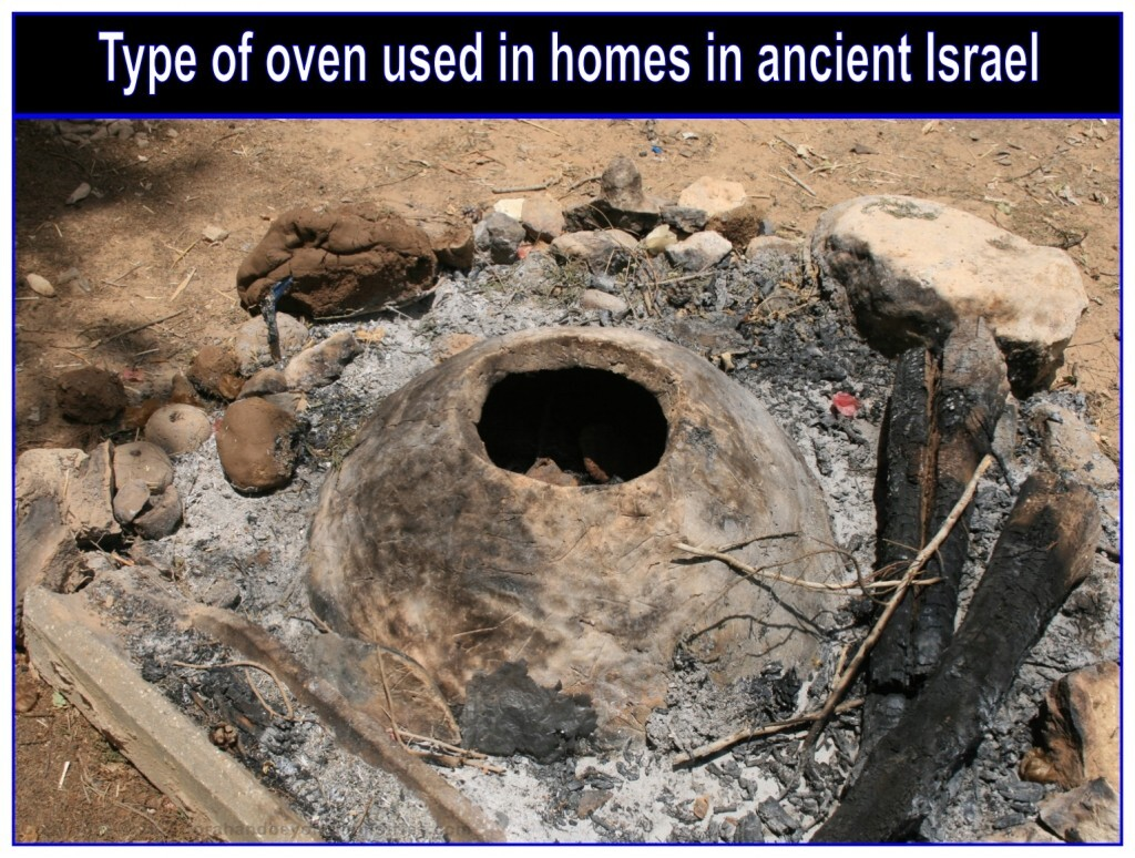 Not every home would have room for their own oven, so most used the communal ovens.