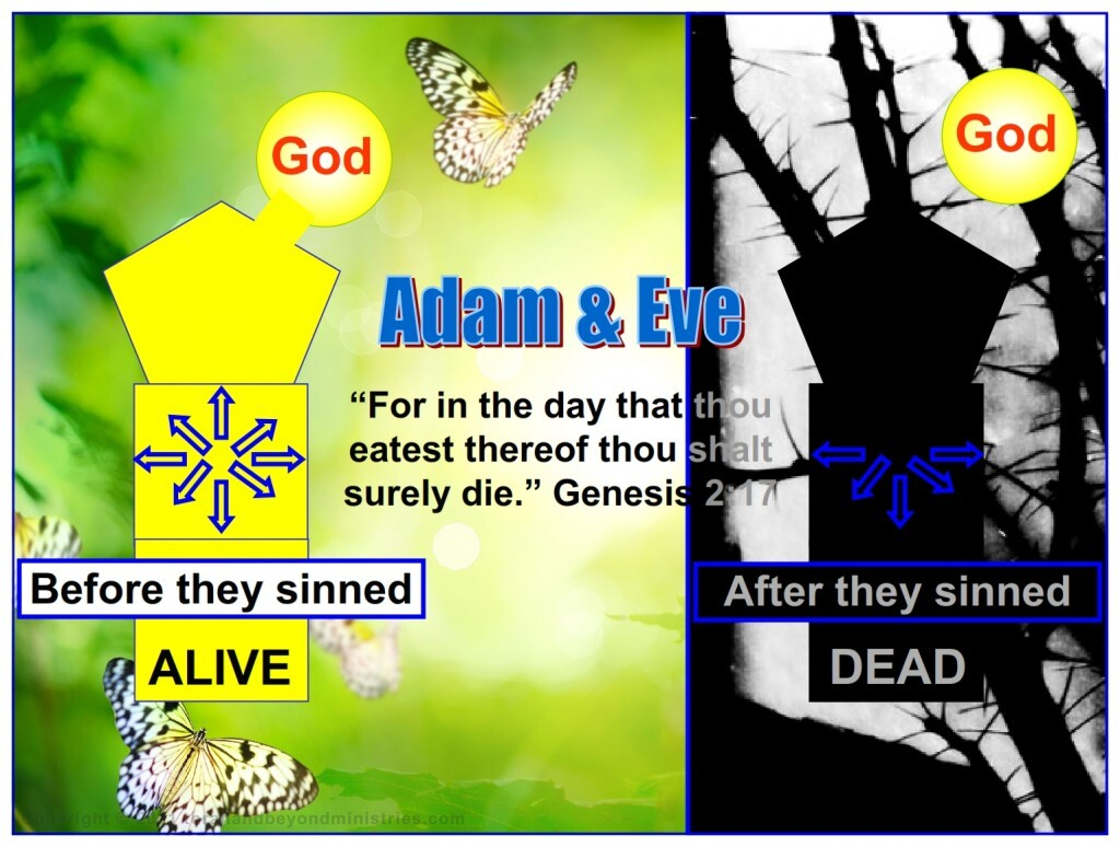 The very instant Adam and Eve ate from the tree their spirit was disconnected, separated, from God. This is death.