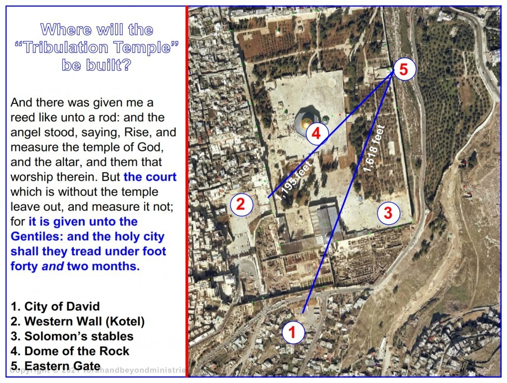 Where will the Tribulation Temple be built?
