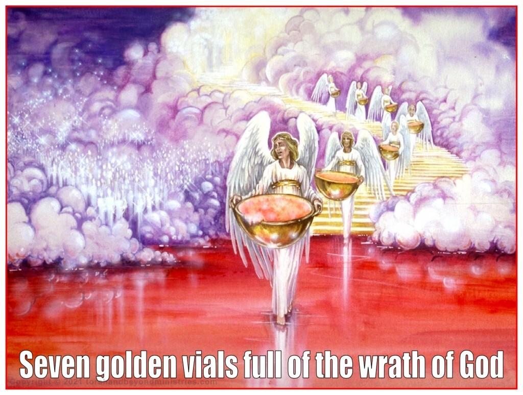 Seven golden vials full of the wrath of God