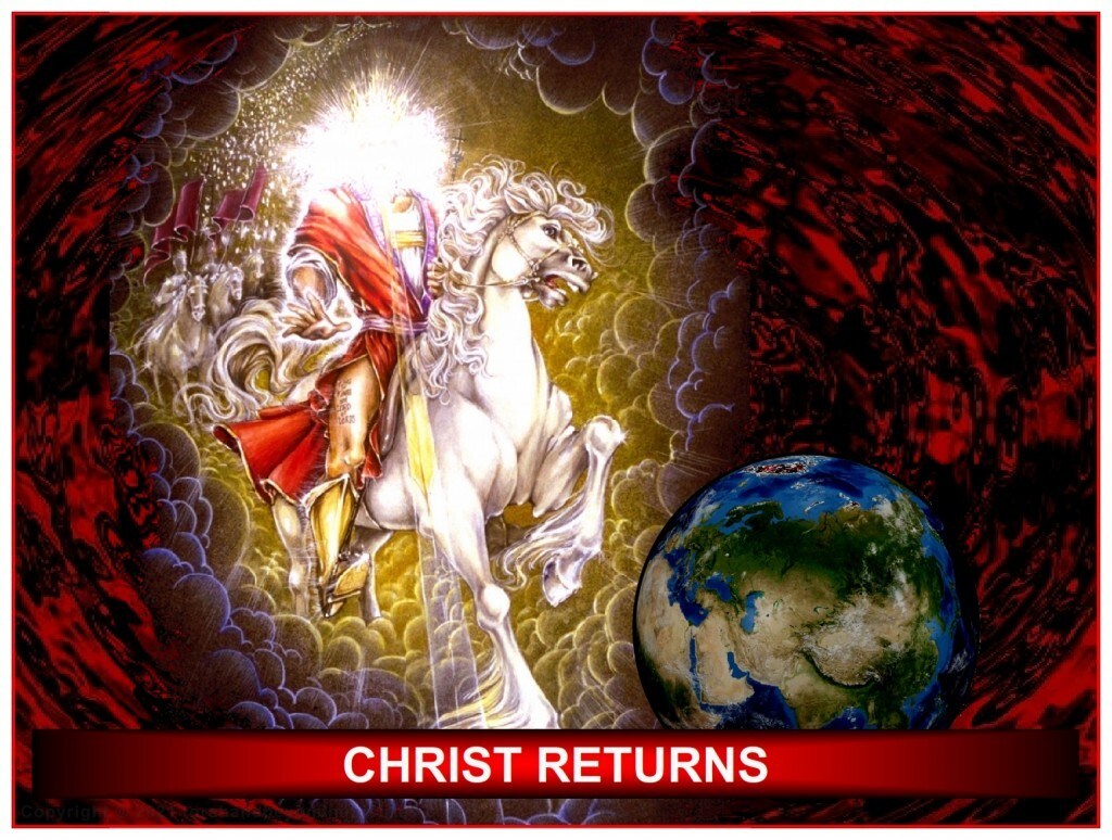 The return of Jesus Christ at the end of the Tribulation