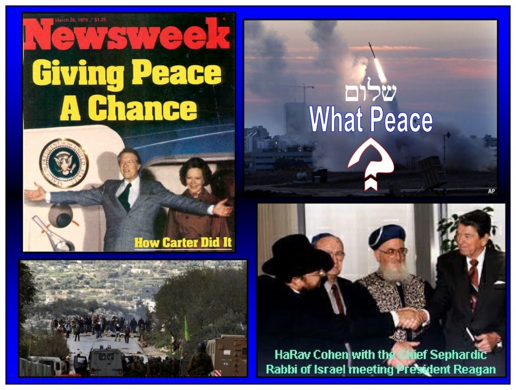 The world is waiting to sign a peace treaty in Israel. The Antichrist will be the one to sign it.