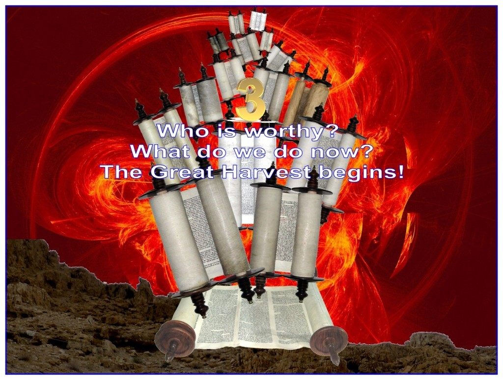 """Feast of Pentecost lesson three covers the questions of """"who is worthy to go to Heaven?"""" and """"what do we do now that we are redeemed?""""."""