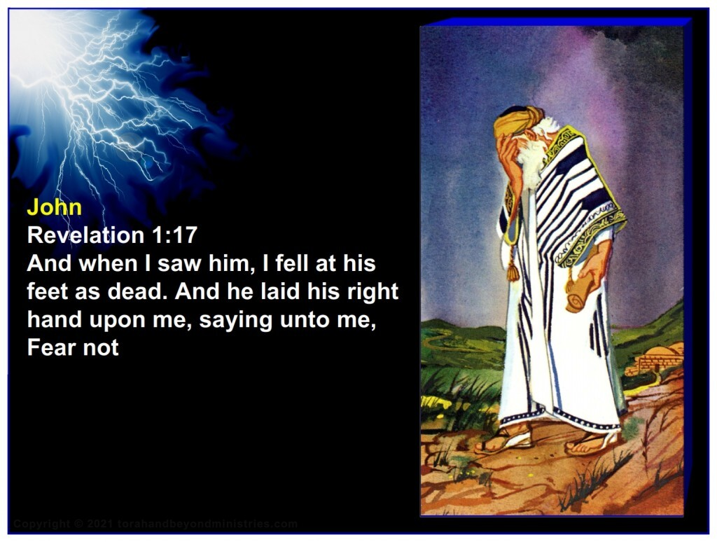 The Apostle John was quick to bow to the Lord of Lords: And when I saw him, I fell at his feet as dead. And he laid his right hand upon me, saying unto me, Fear not