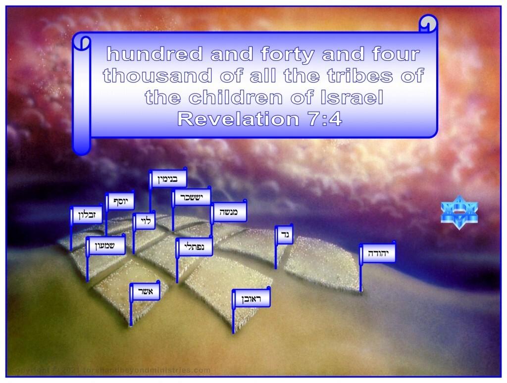 God seals 144,000 special servants.