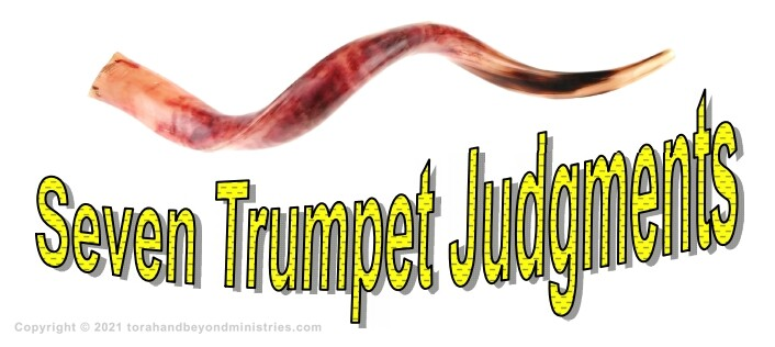 The Shofar is used to represent the seven trumpet judgments of the Tribulation