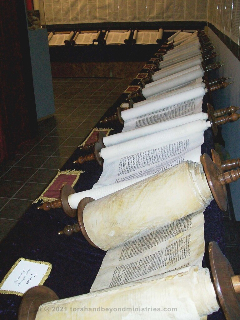 Entire Tanakh as displayed in Dallas when I had the museum at the Wycliffe Bible Translator's campus.