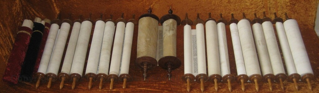 Authentic Hebrew Scrolls of the Law, Prophets, Writings